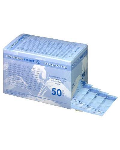 Supreme hanske steril latex 7,5 50stk
