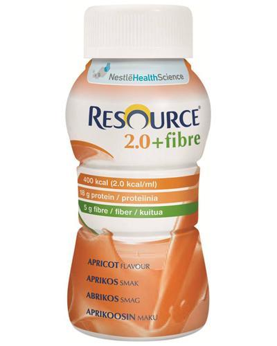 Resource 2,0+fibre næringsdrikk aprikos 4x200ml