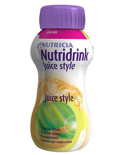 Nutridrink Juice style tropisk frukt 4x200ml
