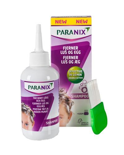 Paranix sjampo med kam lusemiddel 200ml