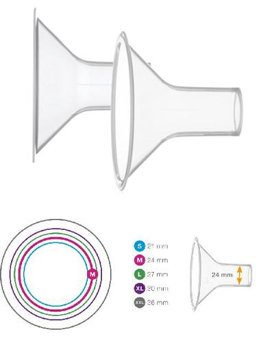 Medela Personal Fit brysttrakt str M (24mm) 2stk