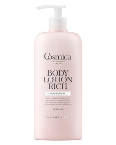 body lotion uten parfyme