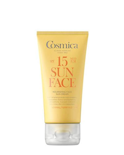 Cosmica Face nourishing solkrem SPF15 normal/tørr 50ml