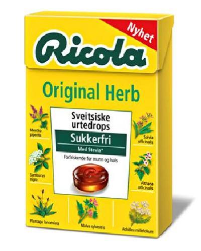 Ricola Original m/stevia 50g