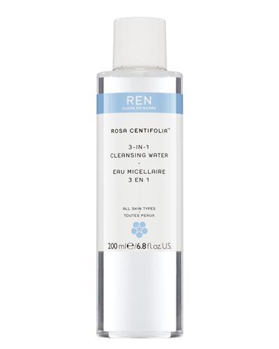REN Rosa Centifolia 3-in-1 rensevann 200ml
