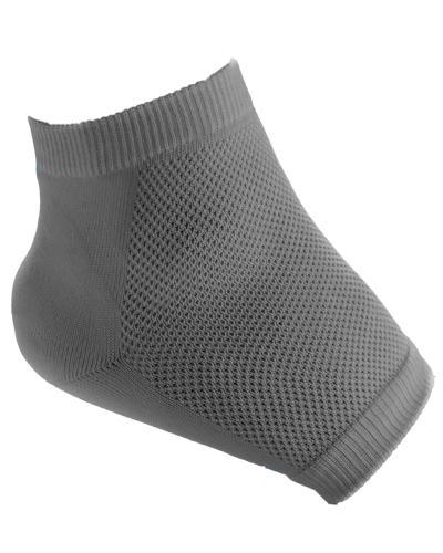 Basisfot gnagsårsokk grå str L 2stk