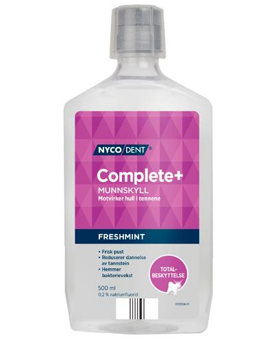 Nycodent Complete+ 0,2% munnskyll 500ml