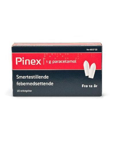 Pinex 1g stikkpiller 10stk