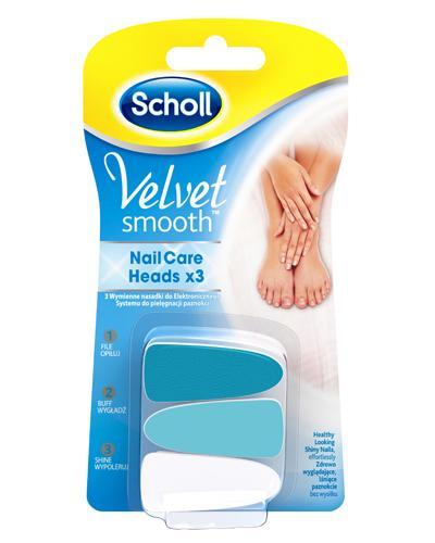 Scholl Velvet Smooth elektrisk neglefil refill 1sett
