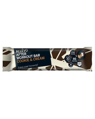 Allévo After Workout bar cookie & cream 60g