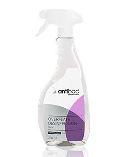 Antibac overflatedesinfeksjon spray 750ml