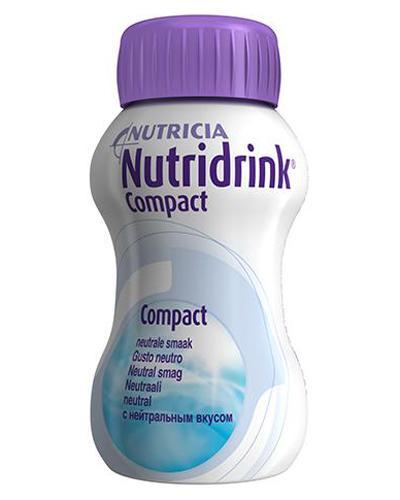 Nutridrink Compact næringsdrikk nøytral 4x125ml