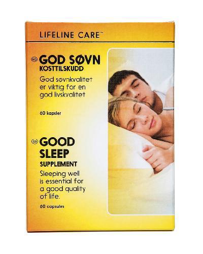 Lifeline Care God Søvn kapsler 60stk