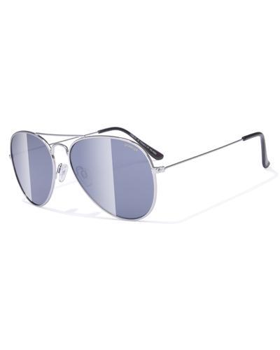 Prestige solbrille pilot sølv 1stk