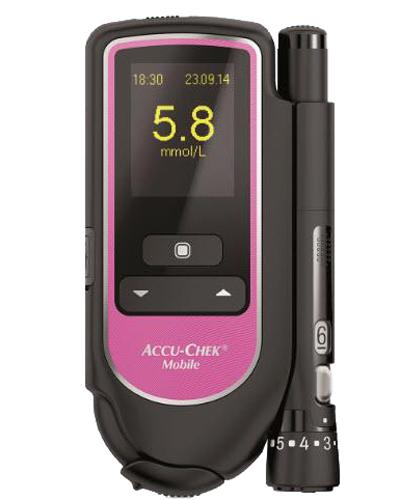 Accu-Chek Mobile Pink blodsukkerapparat 1stk