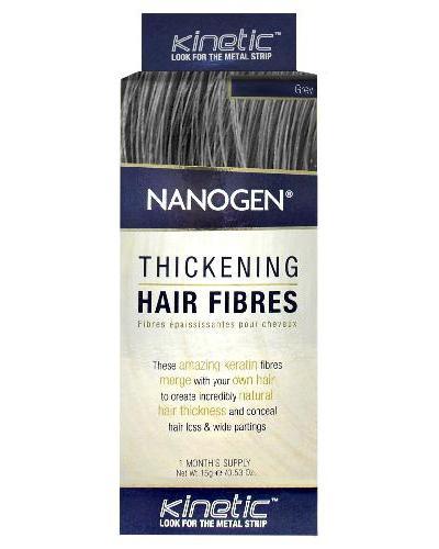 Nanogen Keratin hårfibre grå 15g