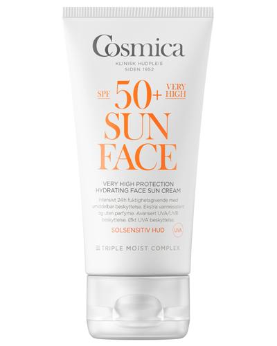 Cosmica Sun hydrating solkrem ansikt SPF50+ 50ml