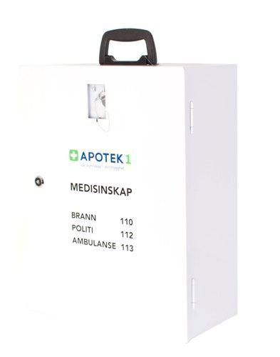 Medisinskap Apotek 1 1stk