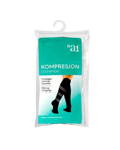 a1 Kompresjon ull 42/43 1par