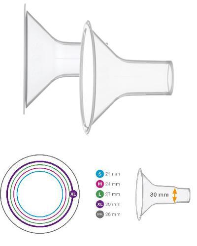 Medela Personal Fit brysttrakt str XL (30mm) 2stk