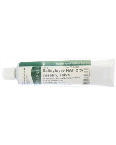 Salisylsyre NAF 2% vaselinsalve 25g