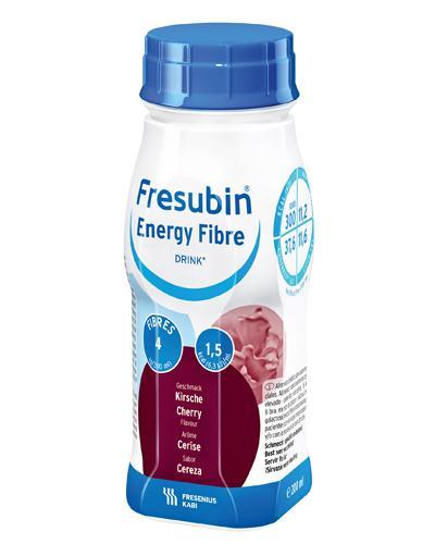 Fresubin Energy Fibre Drink næringsdrikk kirsebær 4x200ml