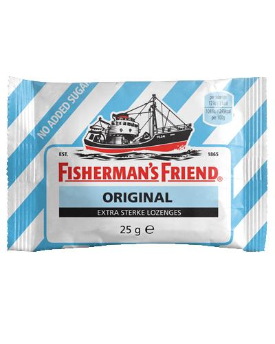 Fisherman's Friend pastiller original 25g