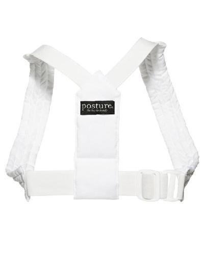 Posture Classic sele hvit str L/XL 1stk
