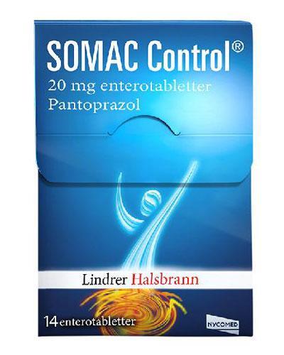 Somac Control 20mg enterotabletter 14stk