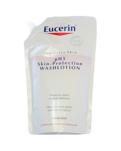 Eucerin pH5 Washlotion refill uten parfyme 400ml