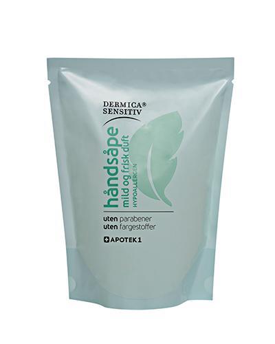 Dermica Sensitiv håndsåpe refill med parfyme 250ml