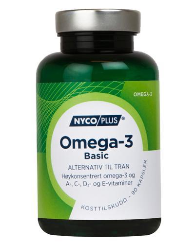 Nycoplus Omega-3 basic kapsler 90stk