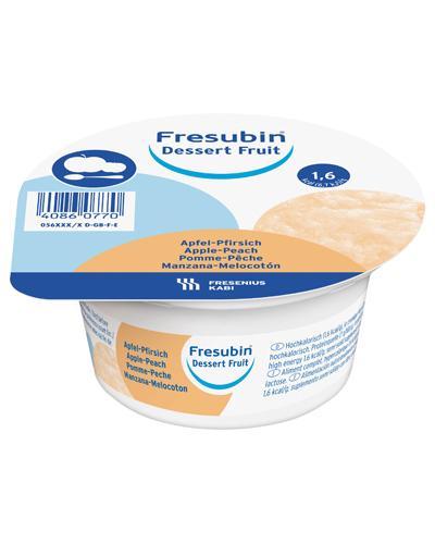 Fresubin Dessert Fruit næringspuré eple/fersken 4x125g