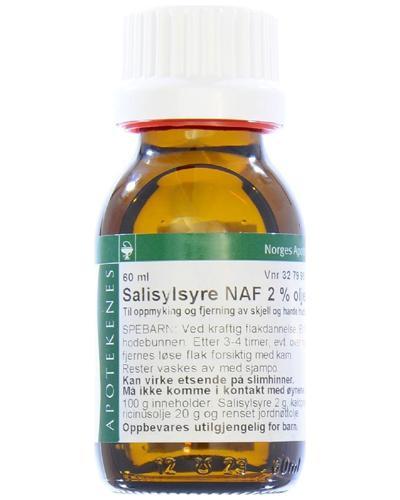 Salisylsyre NAF 2% olje liniment 60ml