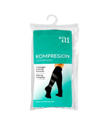 a1 Kompresjon ull 40/41 1par