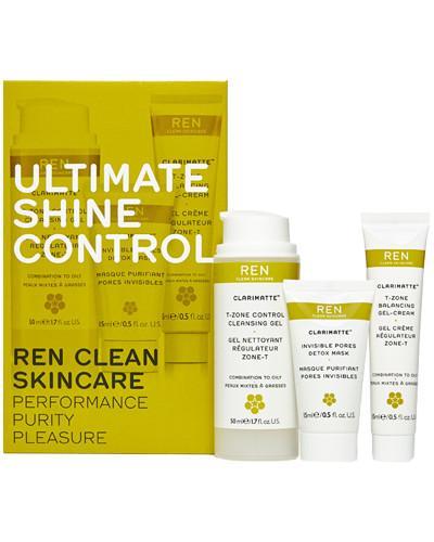 REN UltimateShineControl ansiktssett blandingshud 50+15+15ml