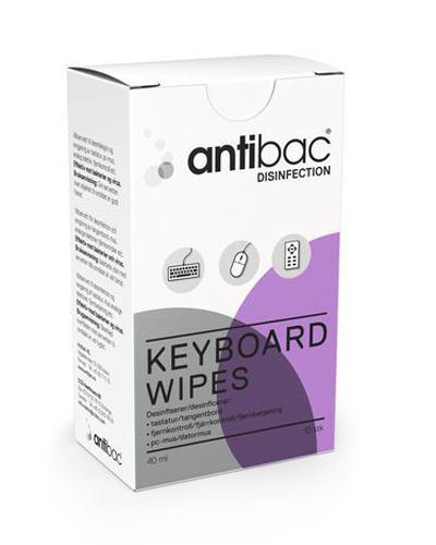 Antibac våtservietter for tastatur 10stk