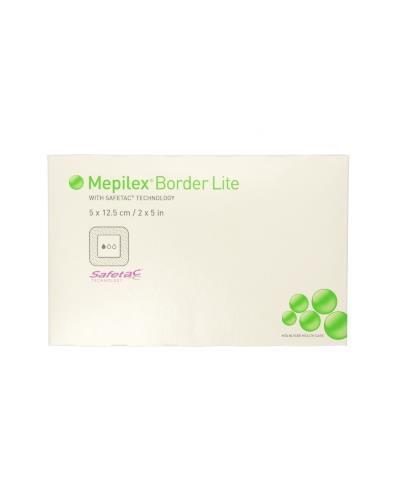 Mepilex Border Lite bandasje 5x12,5cm 5stk