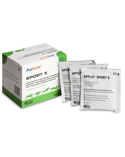 Aptus Sport X pulver til hund 10x25g