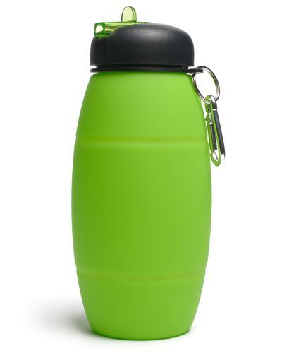 Drikkeflaske i silikon 700 ml grønn 1stk