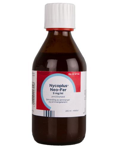 Nycoplus Neo-Fer 9mg/ml mikstur 245ml