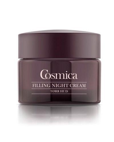 Cosmica Face anti-age40+ filling nattkrem tørr hud 50ml