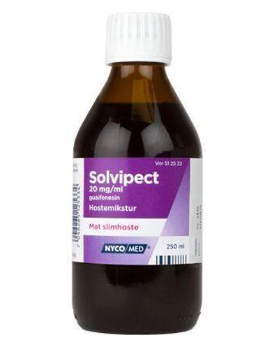 Solvipect 20mg/ml mikstur 250ml