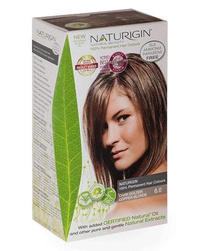 Naturigin hårfarge 6.0 blond dark copper 1stk