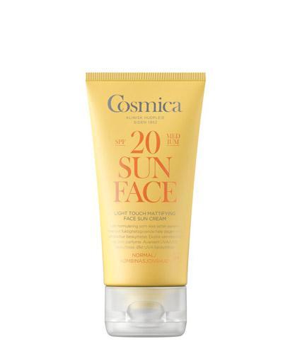 Cosmica Face mattifying solkrem SPF20 normal/komb 50ml