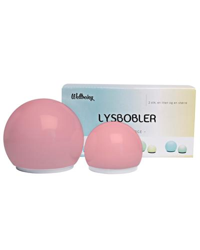 Wellbeing lysbobler 2stk