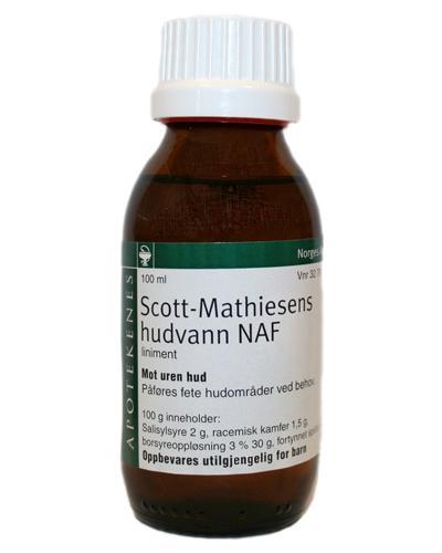 Scott-Mathiesens hudvann NAF liniment 100ml