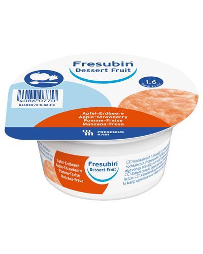 Fresubin Dessert Fruit næringspuré eple/jordbær 4x125 g