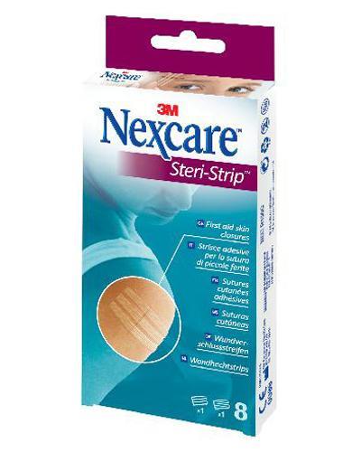 NEXCARE STERI-STRIP 3+5 STRIPS 1stk