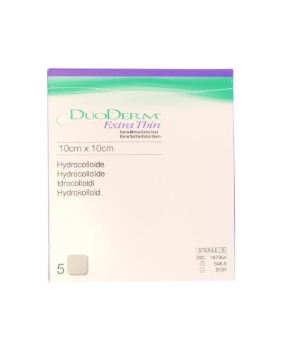 Duoderm tynn hydrokolloid bandasje 10x10cm 5stk